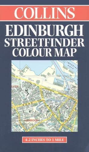 9780004487151: Edinburgh Street Finder Map