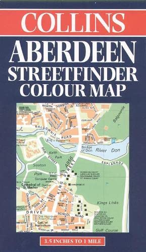9780004487175: Collins Aberdeen Streetfinder Colour Map (Streetfinders)