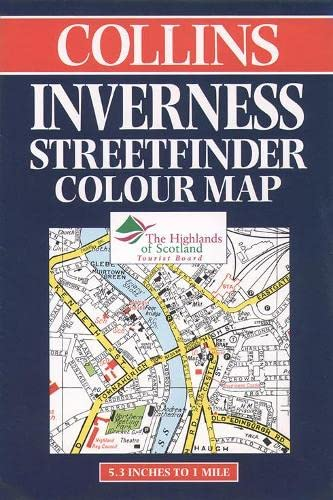 9780004487182: Collins Inverness Streetfinder Colour Map (Streetfinders)