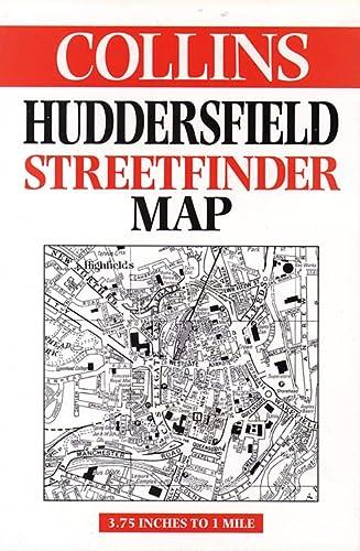 9780004487199: Huddersfield Streetfinder Map (Streetfinders)