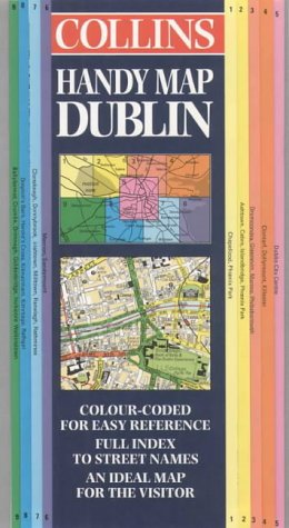 9780004487229: Handy Map of Dublin (Collins British Isles and Ireland Maps)