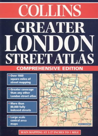 9780004487267: London Maps and Atlases - Collins Greater London Street Atlas