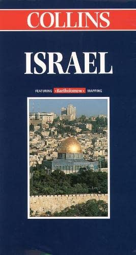 9780004487298: World Travel Map - Israel (Collins World Travel Map)