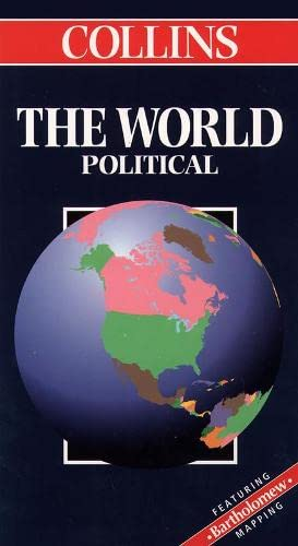 9780004487304: The World (Collins World Travel Map)