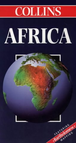 9780004487359: Collins Africa (Collins World Travel Maps)