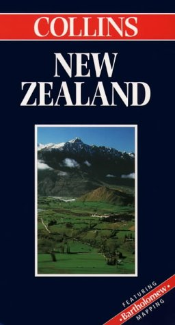 9780004487380: New Zealand (Independant World Traveller Map S.)
