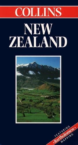 9780004487380: New Zealand (Collins World Travel Maps)