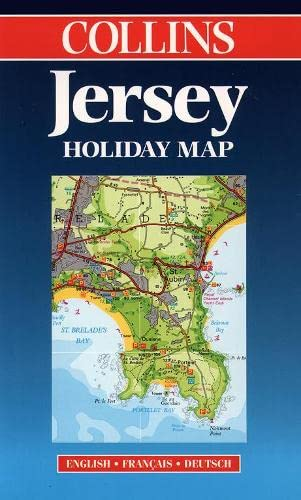 9780004487434: Jersey (Collins Holiday Map) (English, French and German Edition)