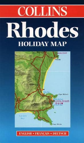 9780004487441: Collins Rhodes Holiday Map: English, Francais, Deutsch (Bartholomew Holiday Maps) (Collins Holiday Maps)