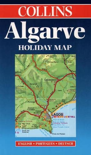 9780004487472: Holiday Map - Algarve (Collins Holiday Map)