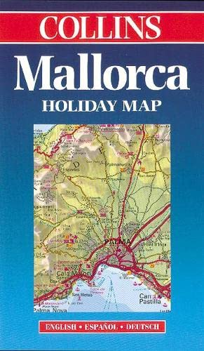 9780004487502: Majorca (Collins Holiday Map)
