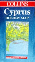 9780004487526: Holiday Map - Cyprus (Collins Holiday Map)