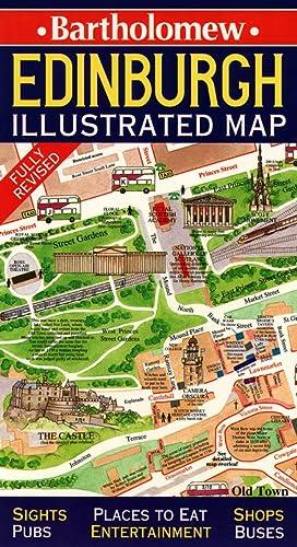 9780004487687: Scotland: Edinburgh Illustrated Map (Collins British Isles and Ireland Maps)