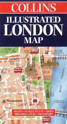 9780004487694: Illustrated London Map (Collins British Isles and Ireland Maps)