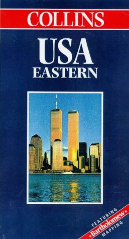 9780004487748: USA Eastern (Collins World Travel Map)