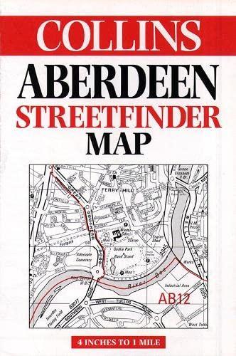9780004487793: Aberdeen Streetfinder Map (Streetfinders)