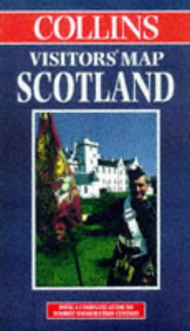 9780004487809: Scotland (Visitors' Map)