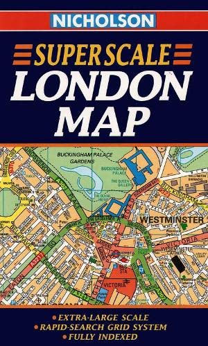 9780004487847: Collins Superscale London Map