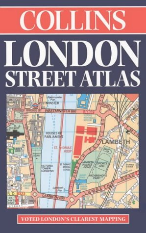 9780004487878: Collins London Street Atlas