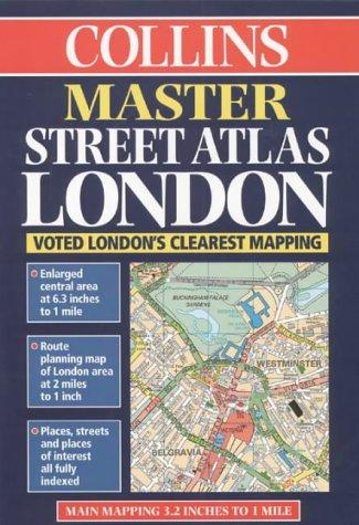9780004487915: Master Street Atlas of London (Street Atlaas)