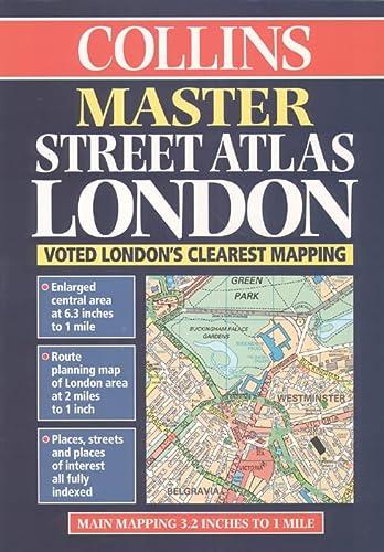 9780004487922: Master Street Atlas of London