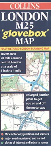 9780004488059: London M25 Glovebox Map (Road Map)