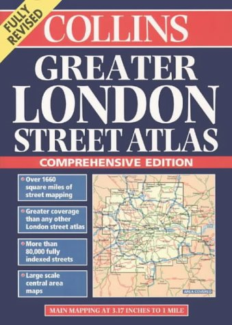 9780004488066: Collins Greater London Street Atlas