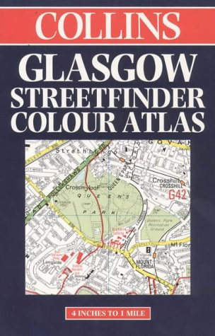 9780004488165: Glasgow Streetfinder: Collins Official Colour Map