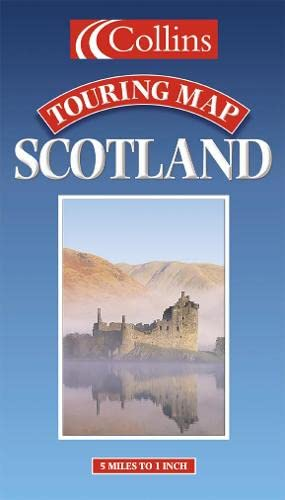 9780004488172: Touring Map - Scotland