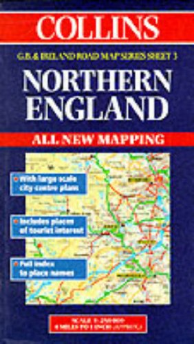 9780004488219: Road Map Great Britain and Ireland: Sheet 3 - Northern England (Collins Great Britain & Ireland Road Map)