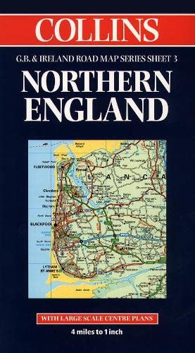 9780004488219: Northern England (Collins Great Britain & Ireland Road Map)
