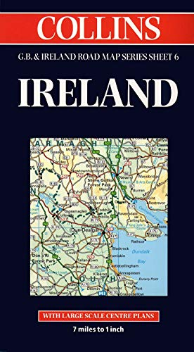 9780004488240: Ireland (Collins Great Britain & Ireland Road Map)