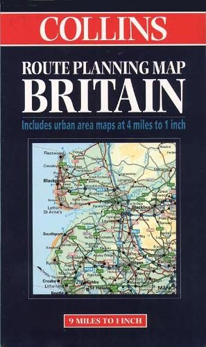 9780004488257: Britain (Collins Route Planning Map)