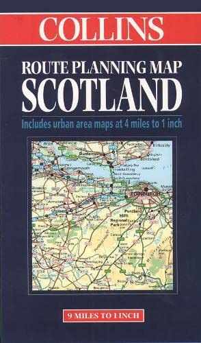 9780004488264: Route Planning Map Scotland (Collins Route Planning Map)