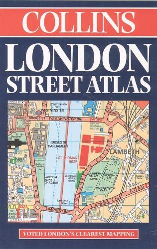 9780004488295: London Street Atlas 1999