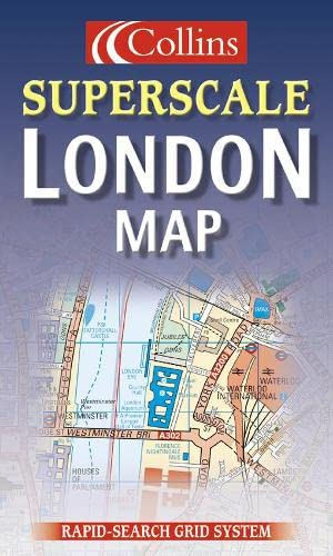 9780004488325: Superscale London Map (Collins British Isles and Ireland Maps)