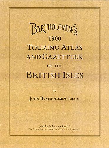 9780004488356: Bartholomew's Touring Atlas and Gazetteer of the British Isles (Road Atlas)