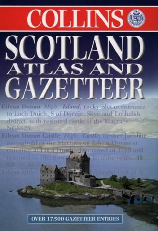 9780004488431: Scotland Atlas and Gazetteer