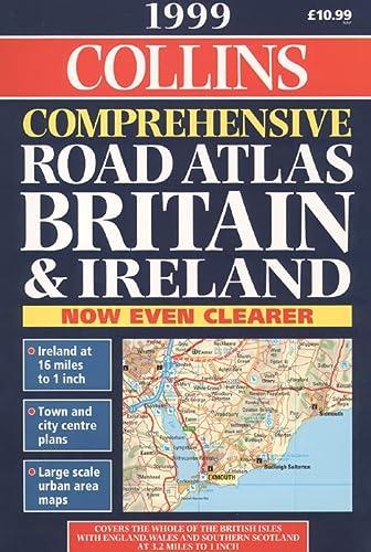 Complete Road Atlas: Britain and Ireland 1999 Sb