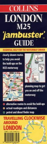 9780004488462: Collins London M25 Jambuster Guide