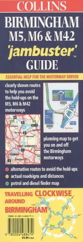 9780004488479: Jambuster Guide - BIRMINGHAM M5, M6 and M42