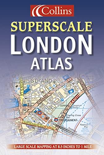 9780004488578: London Superscale Atlas