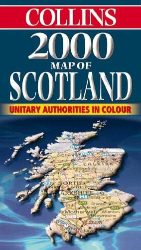 9780004488660: Map of Scotland 2000