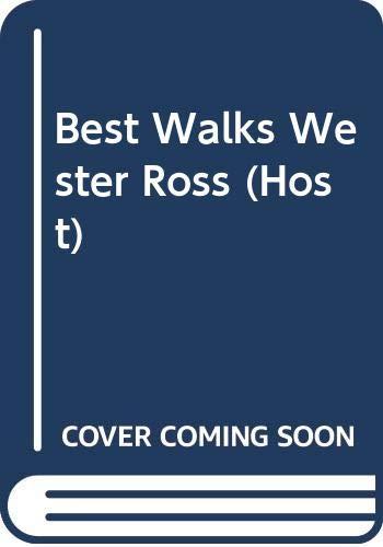 9780004488769: Best Walks Wester Ross (Host)