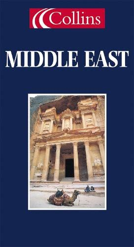 9780004488783: World Travel Map - Middle East (Collins World Travel Map)