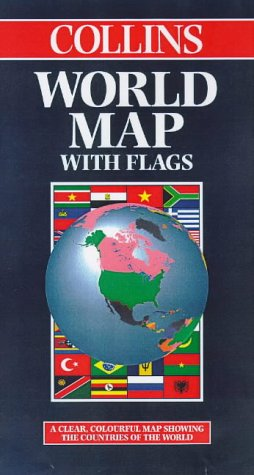 9780004488882: World Map with Flags