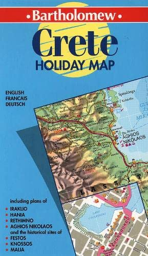 9780004488929: Holiday Map - Crete