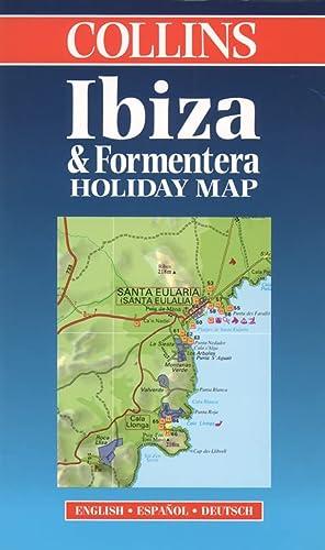 9780004488967: Holiday Map - Ibiza and Formentera (Collins Holiday Map)