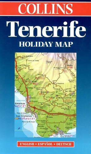 9780004488981: Holiday Map - Tenerife (Holiday maps)
