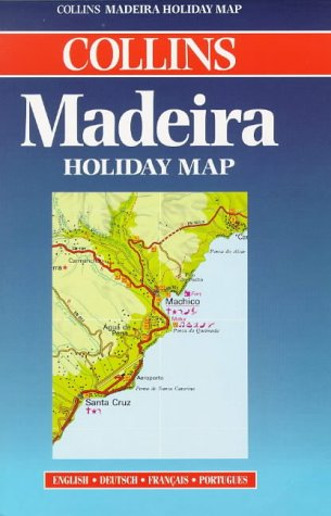9780004488998: Holiday Map - Madeira (Collins Holiday Map)